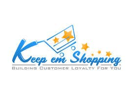 #85 pentru Logo Design for Keep em Shopping de către SkyWalkerAL
