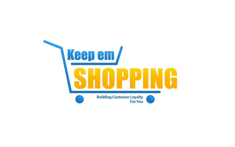 #87 for Logo Design for Keep em Shopping by SkyWalkerAL