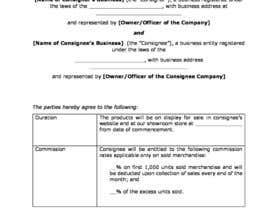 #1 per Consignment contract copper da ricklaurence