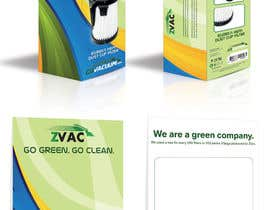 #28 cho Print & Packaging Design for GoVacuum.com - ZVac bởi gerardway