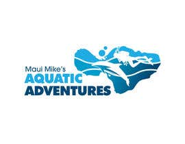#99 para Logo Design for Maui Mikes Aquatic Adventures por marumaruya2010