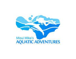 #97 para Logo Design for Maui Mikes Aquatic Adventures por marumaruya2010