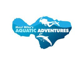 #185 para Logo Design for Maui Mikes Aquatic Adventures por marumaruya2010