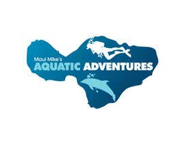 #133 para Logo Design for Maui Mikes Aquatic Adventures por marumaruya2010