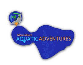 #122 para Logo Design for Maui Mikes Aquatic Adventures por JennyJazzy