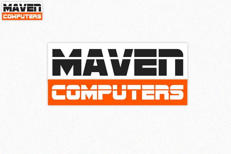 Kilpailutyö #                                        176                                      kilpailussa                                         Logo Design for Maven Computers