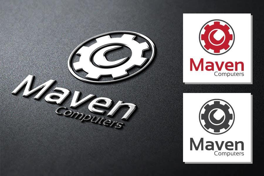 Kilpailutyö #                                        43                                      kilpailussa                                         Logo Design for Maven Computers