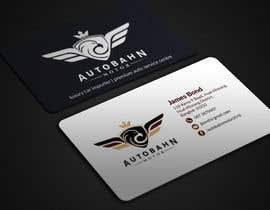 Nro 62 kilpailuun Business card for prestige car showroom using existing Logo käyttäjältä BikashBapon