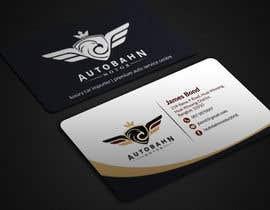 Nro 64 kilpailuun Business card for prestige car showroom using existing Logo käyttäjältä BikashBapon