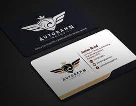 Nro 65 kilpailuun Business card for prestige car showroom using existing Logo käyttäjältä BikashBapon