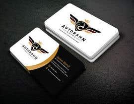 Nro 126 kilpailuun Business card for prestige car showroom using existing Logo käyttäjältä tuhin682
