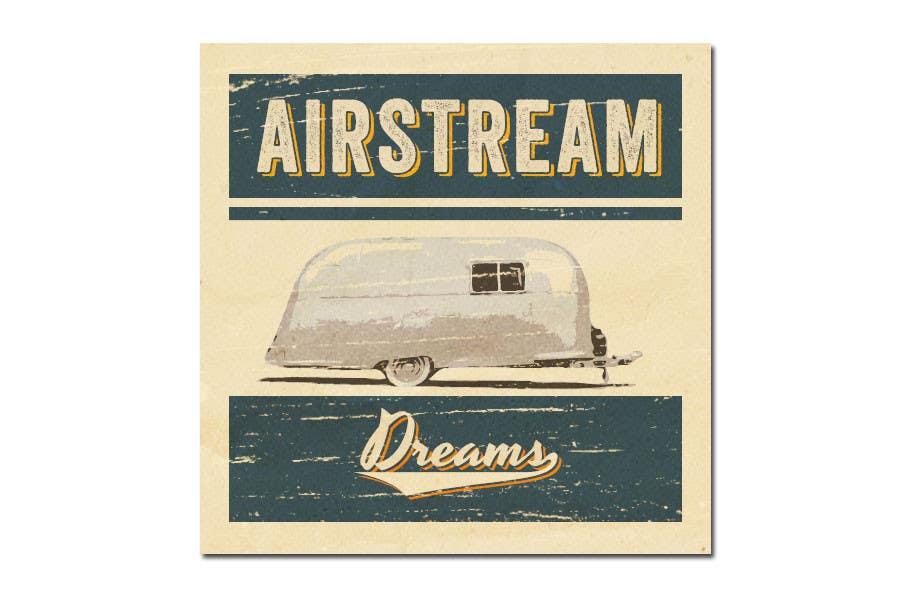 Penyertaan Peraduan #                                        320                                      untuk                                         Logo Design for Airstream Dreams
