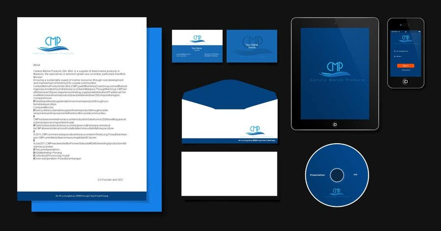 #83 for Design a Logo and Branding for an Aquaculture Company by dpdesignsco