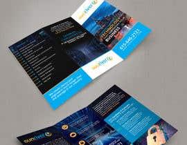 nº 16 pour Design a trifold brochure for my IT services company par pris