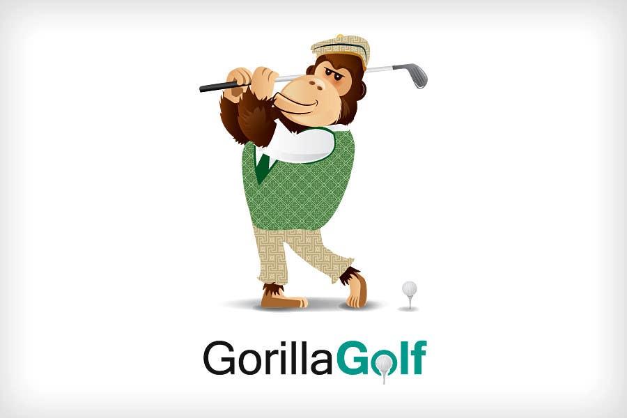 Bài tham dự cuộc thi #4 cho Logo Design for www.gorillagolf.com.au
