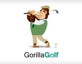 #4 para Logo Design for www.gorillagolf.com.au por tarakbr