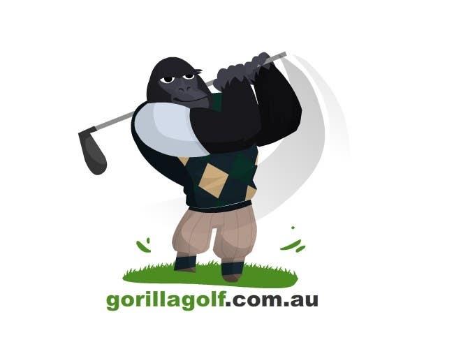 Bài tham dự cuộc thi #3 cho Logo Design for www.gorillagolf.com.au