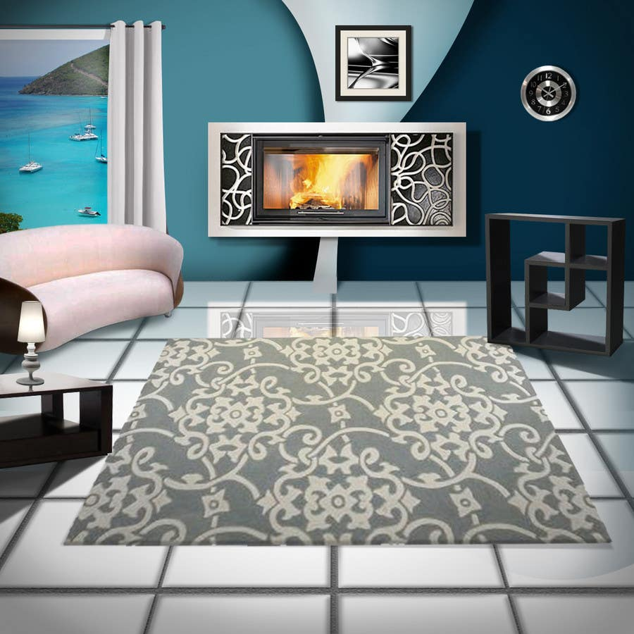 Inscrição nº                                         30                                      do Concurso para                                         Transform a bad hand drawing into a quality graphic-Two Living Rooms (2 styles:Log Cabin and Modern)