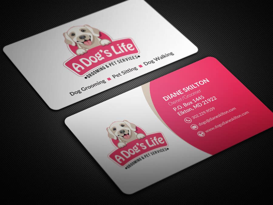 Entry 89 By Bikashbapon For Design Business Cards Pet Services