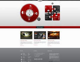 nº 2 pour Website home page (DESIGN ONLY, no implementation required), including custom vector graphic creation. par Wecraft