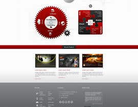 nº 4 pour Website home page (DESIGN ONLY, no implementation required), including custom vector graphic creation. par Wecraft