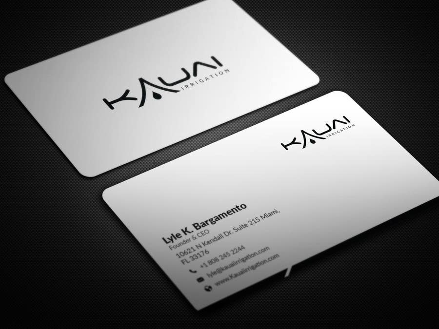 Entry #18 by BikashBapon for business card layout, font and scale ...