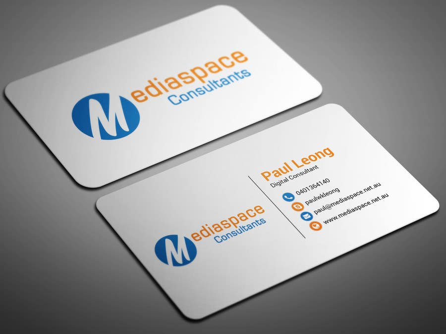 Entry 1 by smartghart for business card design for web for Freelance business cards