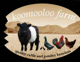 #58 para Logo Design for Koomooloo farm por TK5