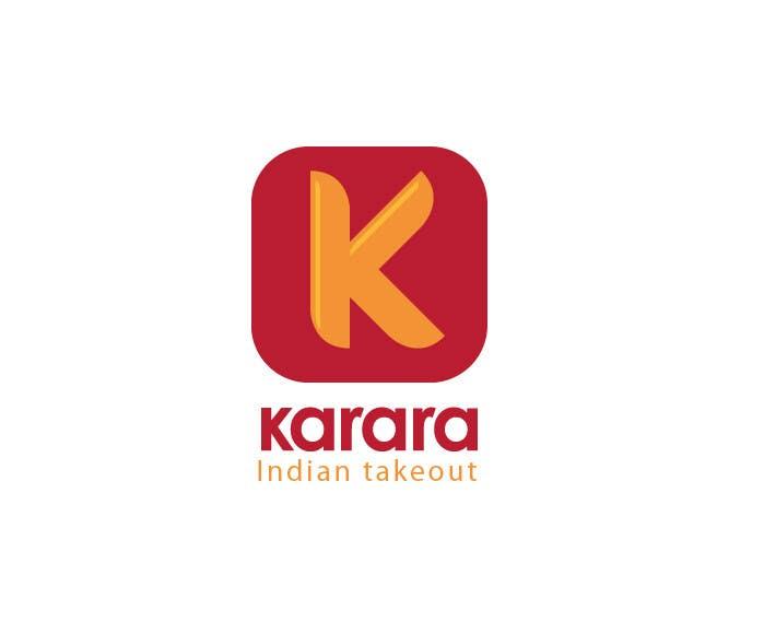 Inscrição nº 593 do Concurso para Logo Design for KARARA The Indian Takeout