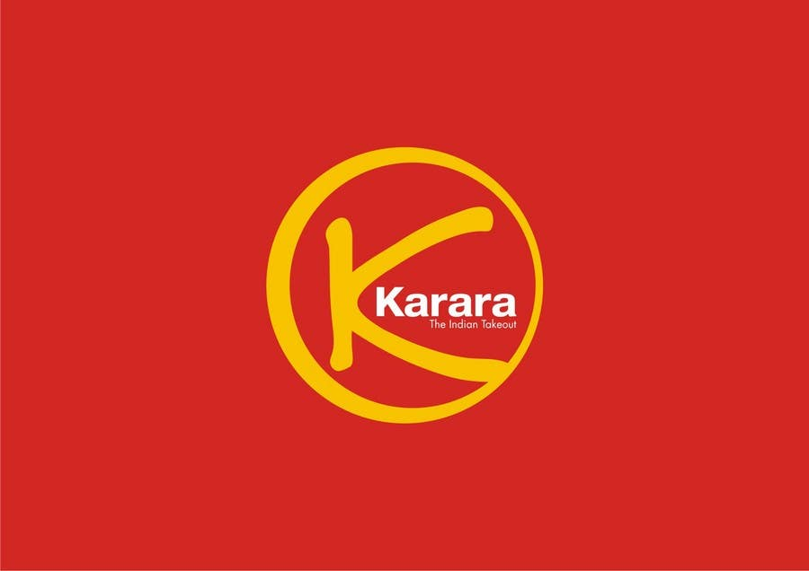 Inscrição nº 198 do Concurso para Logo Design for KARARA The Indian Takeout