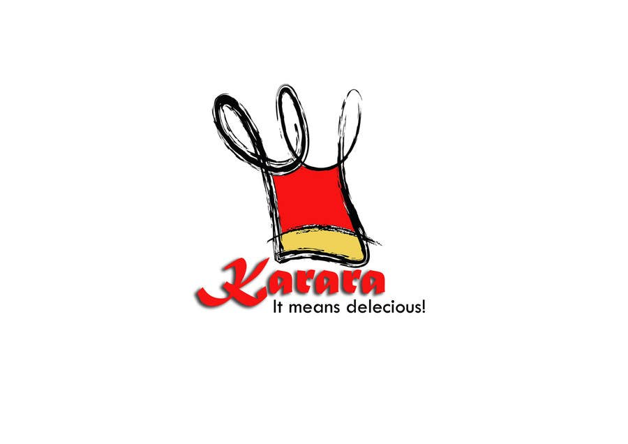 Inscrição nº 321 do Concurso para Logo Design for KARARA The Indian Takeout