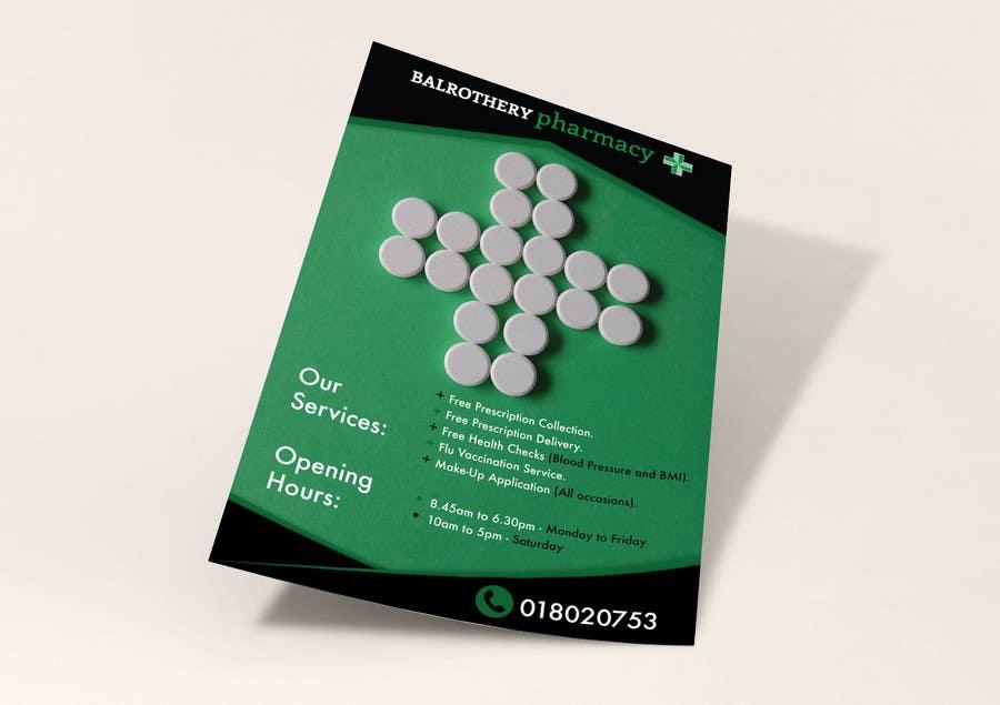 flyer for new pharmacy freelancer