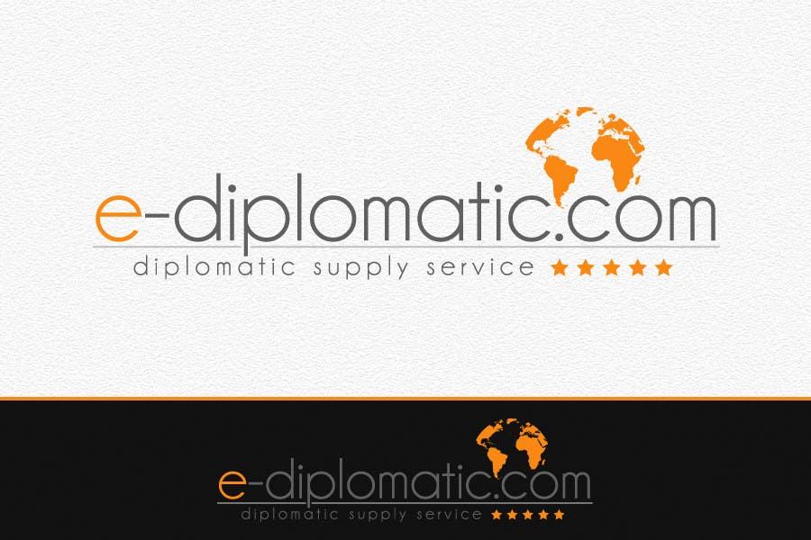 Kilpailutyö #255 kilpailussa Logo Design for online duty free diplomatic shop