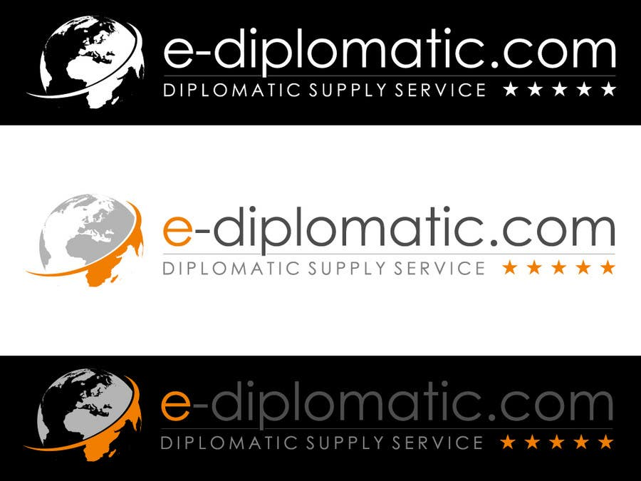 Kilpailutyö #206 kilpailussa Logo Design for online duty free diplomatic shop