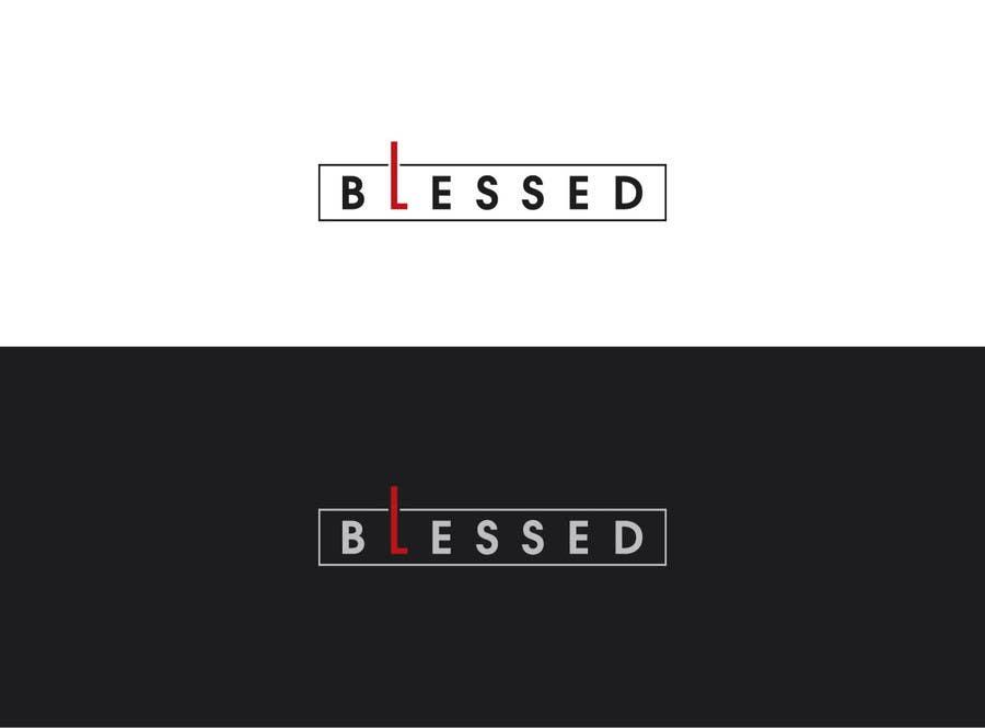 Bài tham dự cuộc thi #                                        100                                      cho                                         Design a Beautiful Logo For the Word: BLESSED