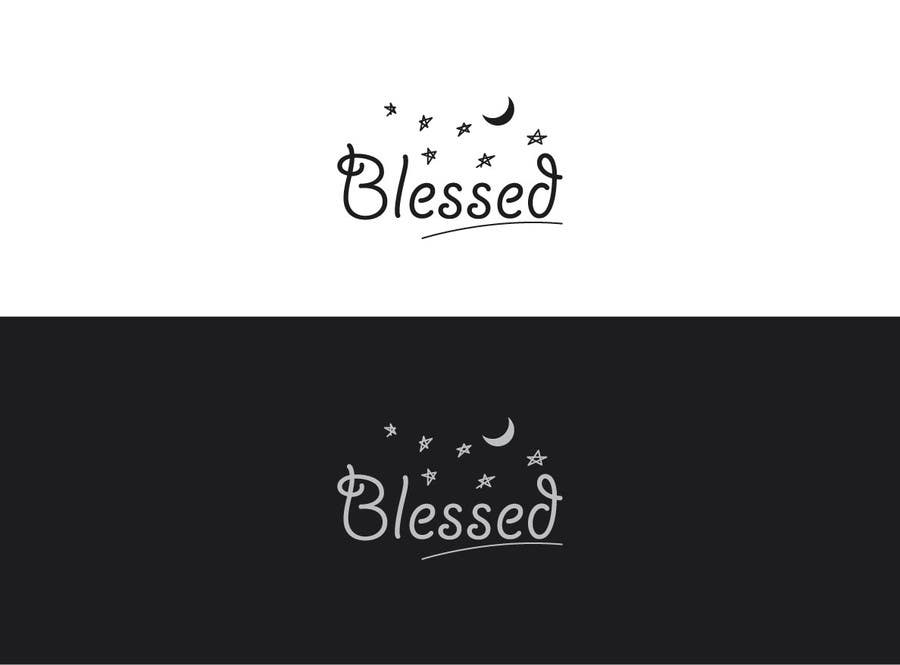 Bài tham dự cuộc thi #                                        221                                      cho                                         Design a Beautiful Logo For the Word: BLESSED