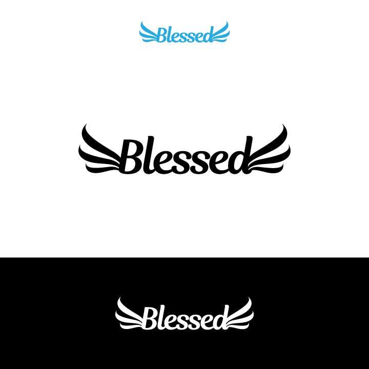 Bài tham dự cuộc thi #                                        282                                      cho                                         Design a Beautiful Logo For the Word: BLESSED