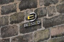 Bài tham dự #6 về Graphic Design cho cuộc thi Design a Beautiful Logo For the Word: BLESSED
