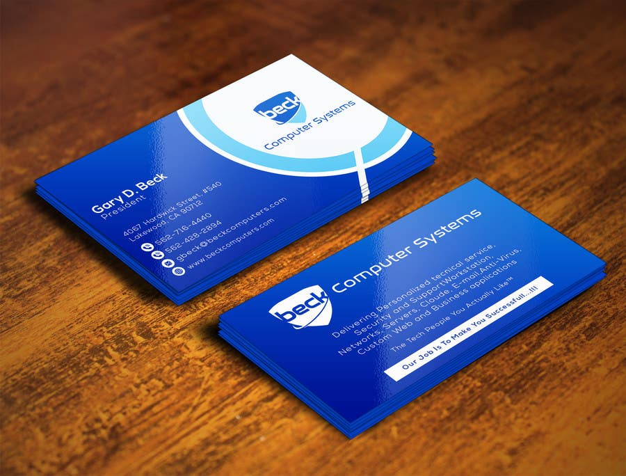 Entry 23 by rashedul070 for design a visiting card template for my business card colourmoves