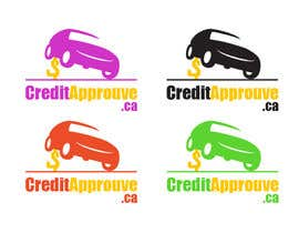 nº 124 pour Logo Design for Credit approuve .ca par SkyWalkerAL