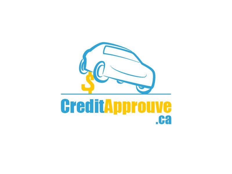 #104 for Logo Design for Credit approuve .ca by SkyWalkerAL