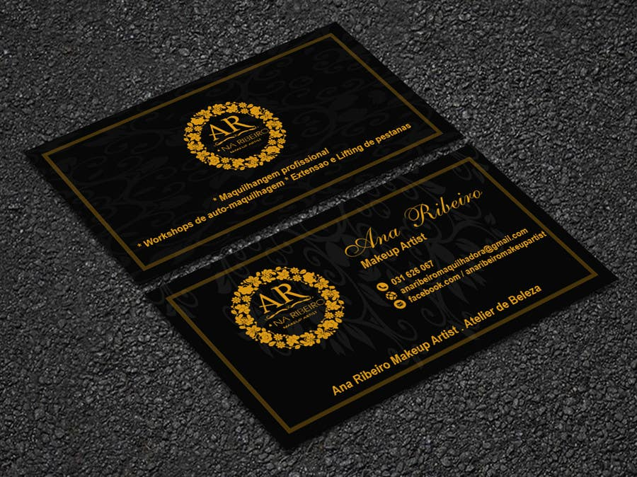 Entry #75 by onnession for Business card makeup artist | Freelancer