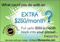 Graphic Design Inscrição do Concurso Nº40 para Banner Ad Design for Moneywise.com