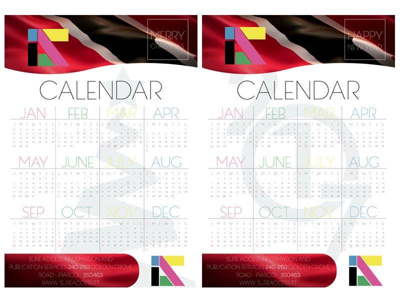 Конкурсная заявка №32 для I need some Graphic Design for a 2017 Calendar