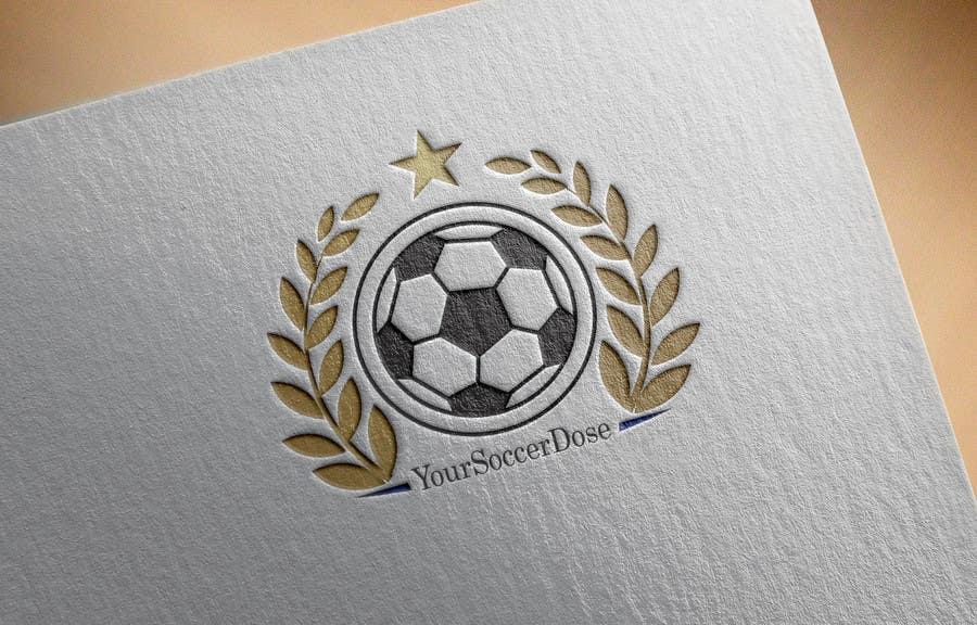 Entry #148 by amanashiq23 for Soccer news site Logo Design   Freelancer