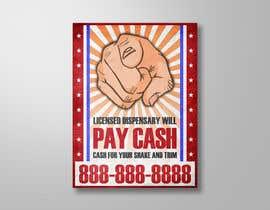 #7 untuk Design a Banner ad for sourcing materials for a California licensed dispensary oleh elgu