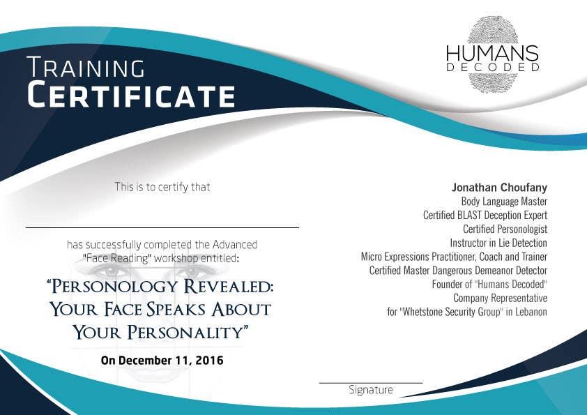 3 Certificates Designs Freelancer