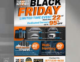 #36 for Design a Black Friday Flyer for Web Hosting Company by MrDesi9n