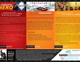 #25 cho Flyer Design for Equipe Industries bởi pantoneeye