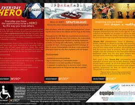 #23 cho Flyer Design for Equipe Industries bởi pantoneeye